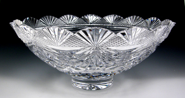 Heritage Irish Cut Crystal Lotus Bowl