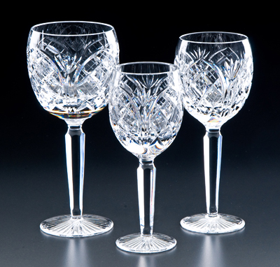 Heritage Irish Crystal Cathedral Glasses