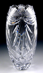 Heritage Irish Crystal Lotus Vase