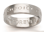 Gaelic Forever Wedding Bands