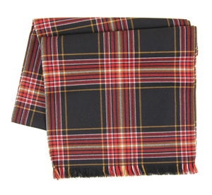 Firefighters Tartan Scarf