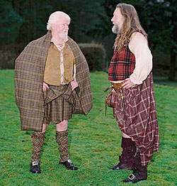 How the Great Kilt is Worn
