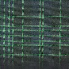 Clergy Green Tartan