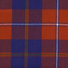 Galloway District Tartans - Red