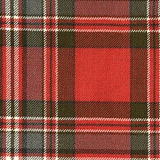 MacFarlane Red Weathered  Tartan