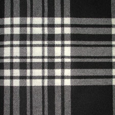 Menzies Black  & White Dress Tartan