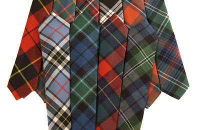 Tartan Plaid Ties Neckties
