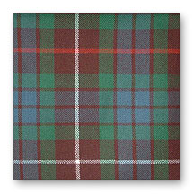 Swatch: Fraser Hunting Ancient Tartan
