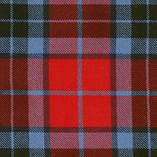 MacTavish / Thompson Red Modern Tartan