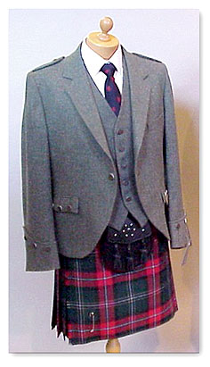 Kilt Jackets Tweed Argyll & Vest