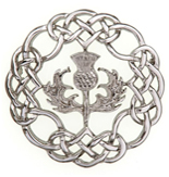 Celtic Knot Pin / Brooch