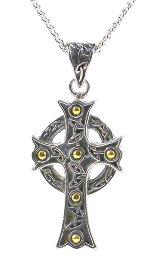 Man's Celtic Cross