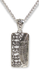 Ogham Love Necklace
