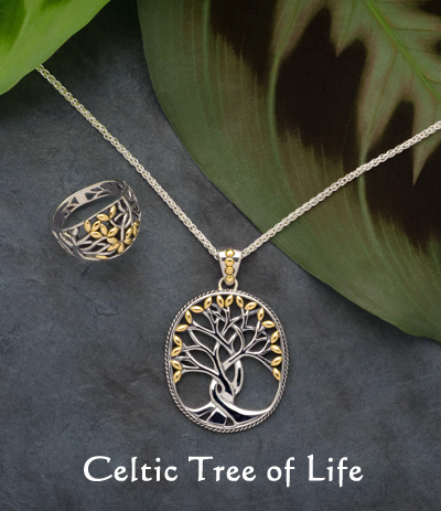 Rowan Tree of Life Necklace & Ring