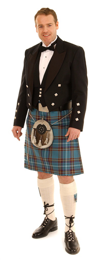 Formal Kilt Outfit