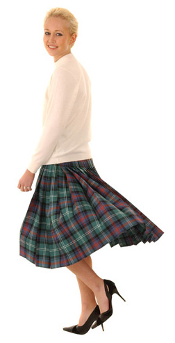 Tartan Plaid Kilt Skirt