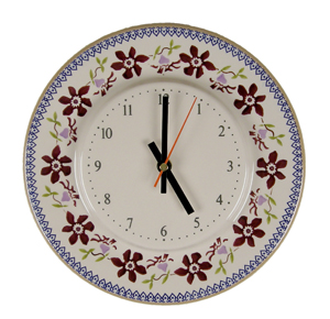 Clematis Kitche Clock