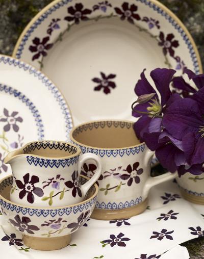 Nicholas Mosse Clematis & Irish Pottery u0026 Crystal