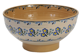Forget Me Not Salad Bowl