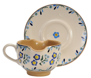 Forget Me Not Gravy Boat
