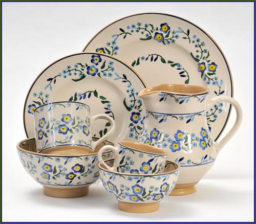 Nicholas Mosse Forget Me Not Pottery