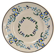 Nicholas Moose Forget-Me-Not Lunch Plate