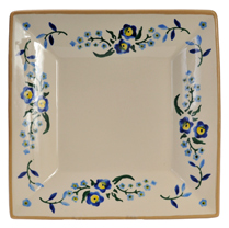 Forget Me Not Medium Square Plate