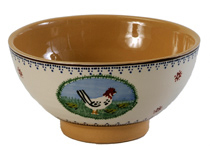 Irish Pottery Vegetable Bowl