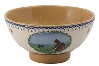 Nicholas Mosse Landscape Cat Medium Bowl