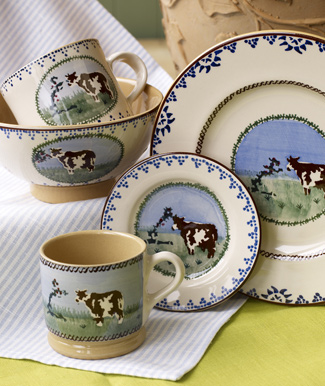 Cow Pottery