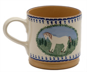 Horse Design Coffee Mug