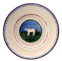 Nicholas Mosse Pottery Horse Lunch Plate