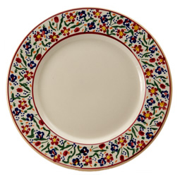 Nicholas Mosse Wildflower Pattern Dinner Plate