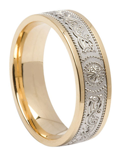 Celtic Warrior Wedding Band