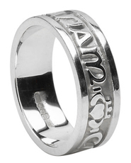 My Soulmate Gaelic Wedding Ring