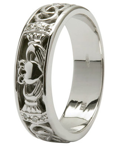 claddagh wedding ring mens claddagh - Mens Claddagh Wedding Ring