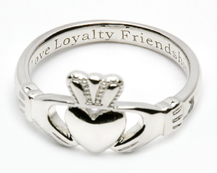 Claddagh Friendship Ring
