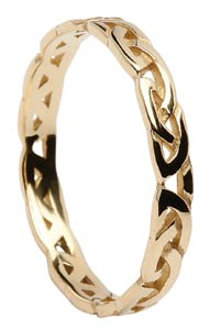 Yellow Gold Ladies Celtic Knot Ring