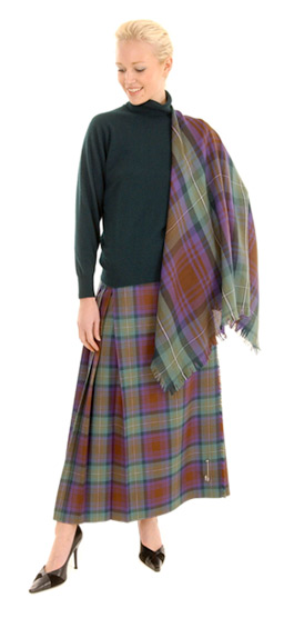 Tartan Shawl  Available in 500 Tartans 100% Wool