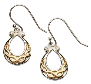 Celtic Knot Torq Earrings