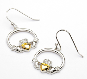 Claddagh Jewelry Earrings