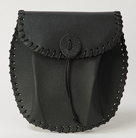 Leather Kilt Pouch on Sale