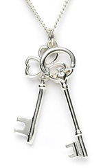 Keys of Ireland Necklace