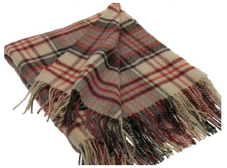 Anderson Weathered Tartan Throw