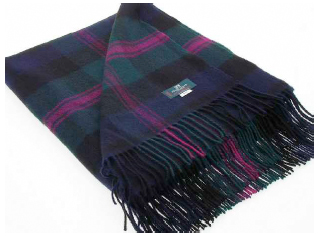 Baird Tartan Throw