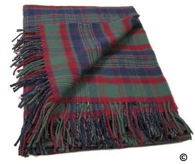 County Cork Irish Tartan Throw