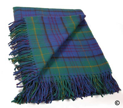 County Donegal Tartan Throw