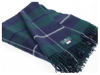 Douglas Tartan Throw