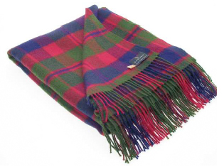 Glasgow Tartan Throw