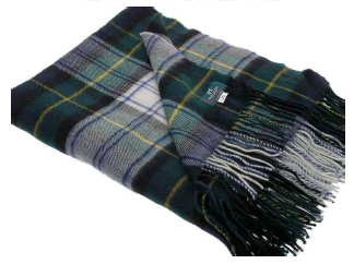 Gordon Dress Tartan Throw